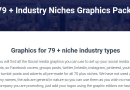 The 79+ Industry Niches Graphics Packs